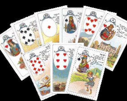 Esmiranda legt u kaarten